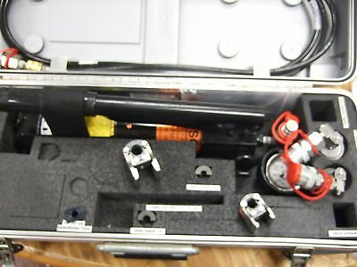 Deutsch Dmc Permaswage Swaging Tool Kit Dltfrpskt3003  Hydraulic Swager Tooling