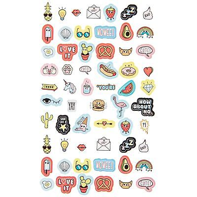 NPW Bubblegum Scented Nail Art Stickers Decal Transfer Stocking Filler