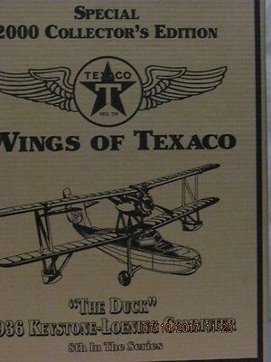 wings of texaco 1936 new in box 8th in series