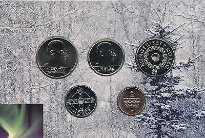 Norway 2007 pc Uncirculated Mint Set
