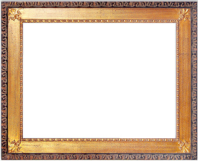 "6.5"" Gold Ornate Wood Photo Family Oil Painting Picture Frame 734GB"