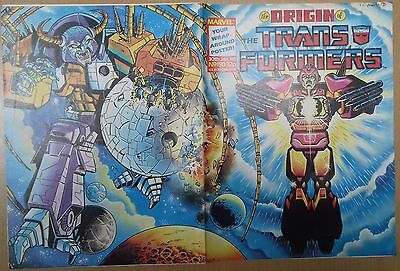 Transformers UK Comic Issue 150 With Cover Poster