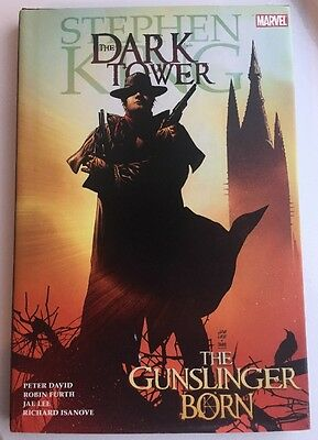 STEPHEN KING Dark Tower Graphic Novel  'The Gunslinger Born'  Marvel Hard Back