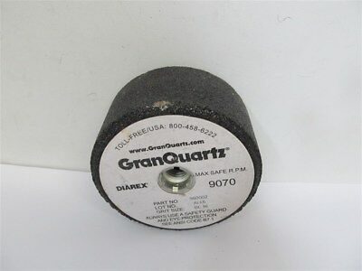 "Gran Quartz (Diarex) 960002, 4"" x 2"" Silicon Carbide Grinding Wheel 36 grit"