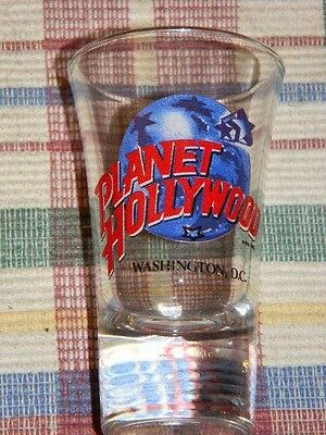 Washington, D.C.- shot glass- Planet Hollywood -Great Collectible-NWOT-souvenir