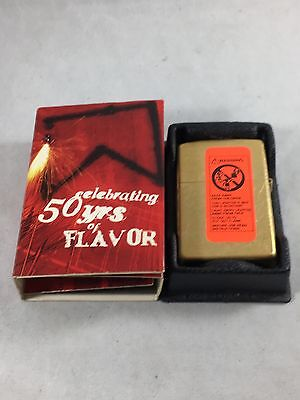 Vintage Marlboro Promotional Zippo New in Box