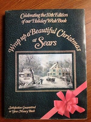 Vintage Sears 50th Edition Holiday Wish Book Wrap Up Beautiful Christmas catalog