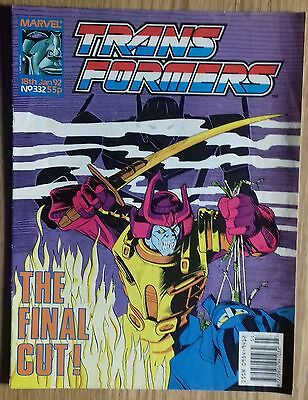 Transformers UK Comic Issue 332