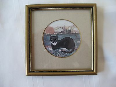 Minature Cat Drawing by Sharon Jervis