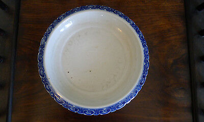Old Chinese blue and white porcelain planter base