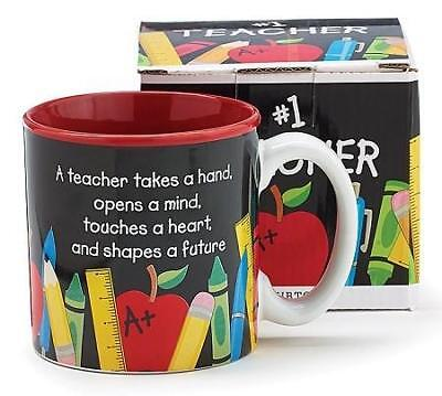 Burton & Burton #1 Teacher Ceramic Mug