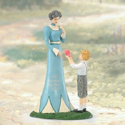 My Grandson My Love Figurine - Thomas Kinkade Bradford Exchange