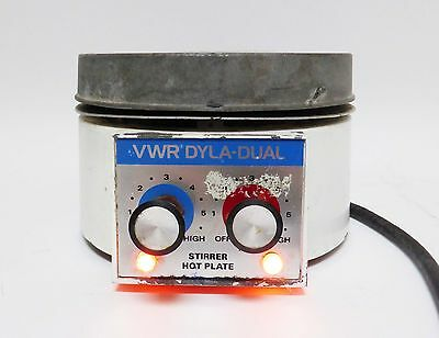 VWR Dyla-Dual Stirrer Hotplate Hot Plate Laboratory FREE EXPEDITED SHIPPING