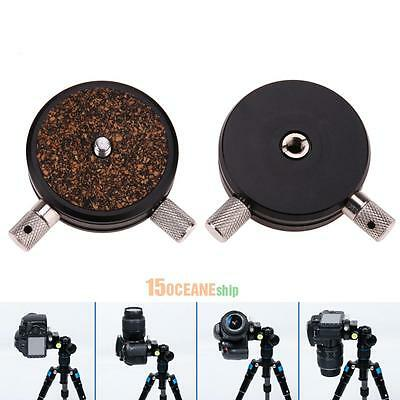 360 Degree Panoramic 1/4'' Camera Ball Head Quick Release Plate for DSLR Tripod