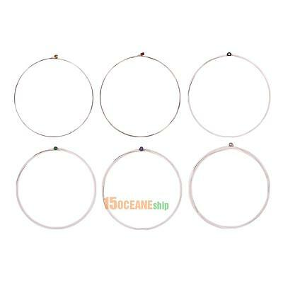 6Pcs Orphee QE Series Steel Nickel Plated String Replacement for Electric Guitar