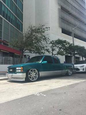 1995 Chevrolet Silverado 1500  Bagged LS swapped step side air suspension