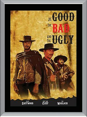 The Good The Bad and The Ugly A1 To A4 Size Poster Prints