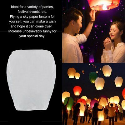 Flying Wishing Lamp Paper Sky KongMing Lantern Wedding Festival Supplies AU