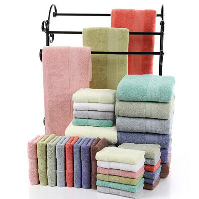 Soft Cotton Absorbent Terry Luxury Egyptian Hand Bath Beach Face Sheet Towels NW