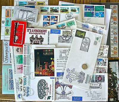 Stamps.covers.stamp Booklets.mostly Uk.great Mix.includes Nth Ireland Coin Cover