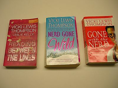 Lot of 3 Romance / Chick Lit Books by Vicki Lewis Thompson (Paperback)