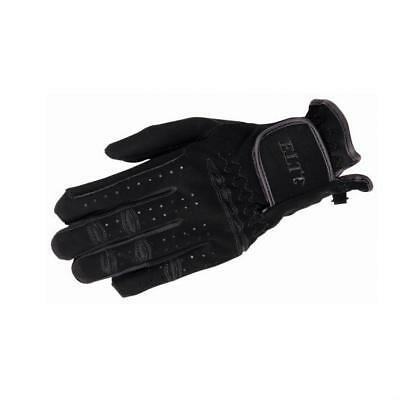 NEW ELT Action Gloves - Black ELT Horse Riding Care Grooming