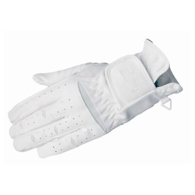NEW ELT Action Gloves - White ELT Horse Riding Care Grooming
