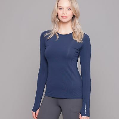 Noble Outfitters Hailey Long Sleeve Crew - Navy