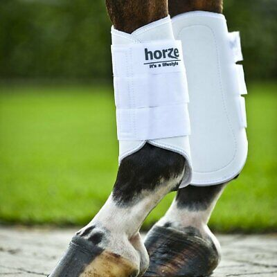 NEW Horze Pile Lined Boots Leg Protection Horse Riding Care Grooming
