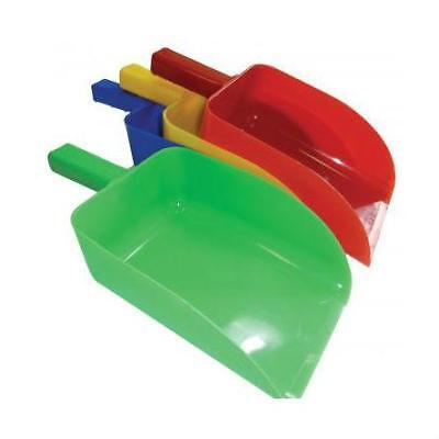 NEW Open Feed Scoop Feed Equipment Horse Riding Care Grooming