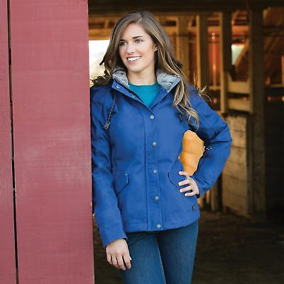 Noble Outfitters Girl Tough Canvas Jacket - Twilight Blue