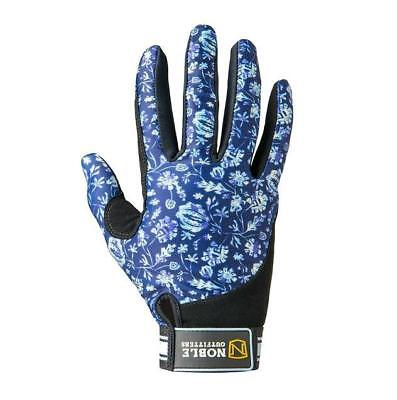 Noble Outfitters Perfect Fit Gloves - Dark Navy Floral