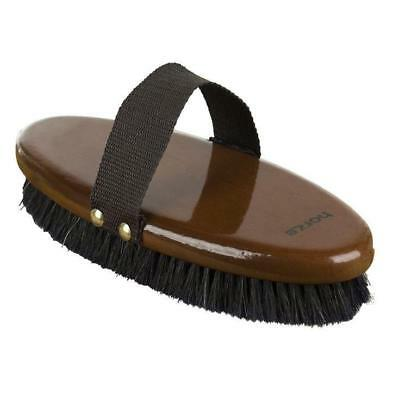 NEW Horze Large Natural Body Brush Grooming Horse Riding Care Grooming