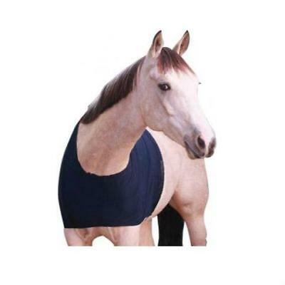 NEW Lycra Bib/Shoulder Guard Hoods & Bibs Horse Riding Care Grooming