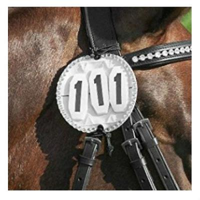 NEW Bling Bridle Number Holder Bridles Horse Riding Care Grooming