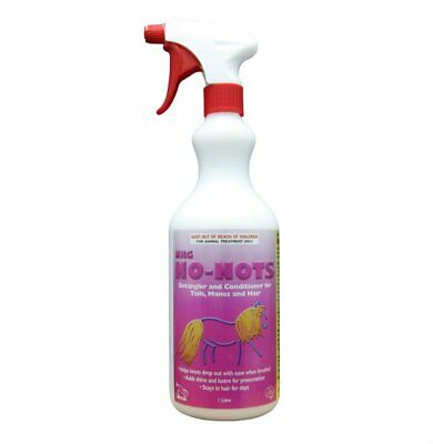 NEW NRG No Nots Coat Care Horse Riding Care Grooming