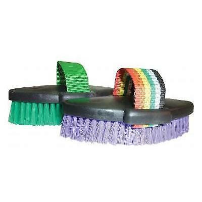 NEW Small Plastic Body Brush Grooming Horse Riding Care Grooming