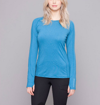 Noble Outfitters Hailey Long Sleeve Crew - Seaport