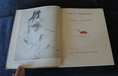 FIFTY DRAWINGS BY FRANCIS LYMBURNER (1946) 50 full page plates #26