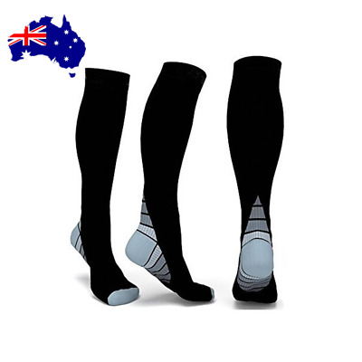 Compression MIRACLE SOCKS for Aching Feet, Varicose Veins, Flight, Travel ON