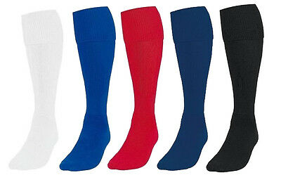 New Unisex Boys Girls Prostyle Football Rugby Hockey Soccer Sport Plain Socks