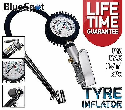 Professional Tyre Inflator With Gauge Air Line Tyre Pump Pressure Tester