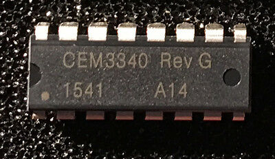 CEM3340 Rev G VCO IC, neu