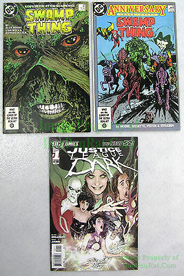Justice League Dark Set: Swamp Thing #49 & #50 +NEW 52 JLD #1 Movie Coming NICE!