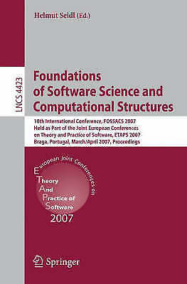 Foundations of Software Science and Computational Structures, Helmut Seidl