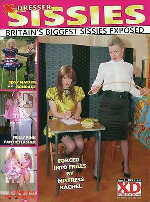 X-DRESSER SISSIES Issue 2 - Transvestite Cross-Dressing Lifestyle Magazine