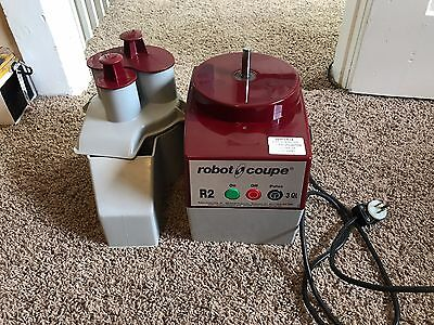 Robot Coupe R2C Commercial Food Processor w/ Continuous Feed Kit 27242 EXCELLENT