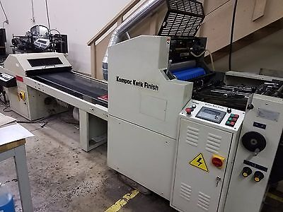 2007 Kompac Quick Finish 20 UV/Aqueous coater