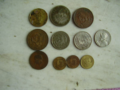Vintage Mexican Coin Lot