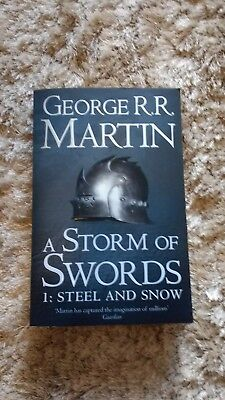 A Storm of Swords 1: Steel and Snow George Martin Paperback